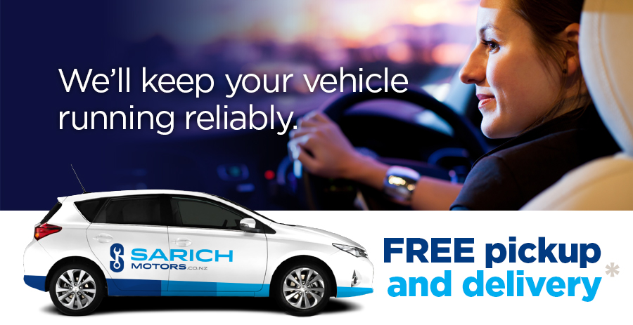 vehicle servicing in Wellington with free pickup and delivery