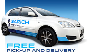 sarich motors courtesy car